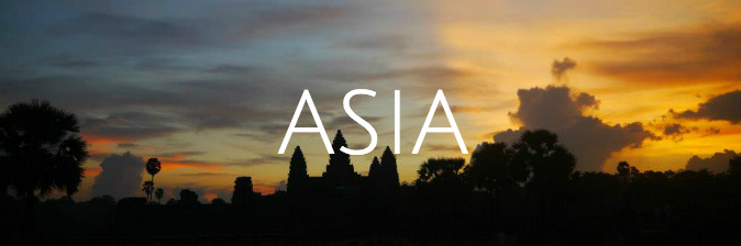 Go travel to Asia and see the sunrise over Angkor Wat, Cambodia